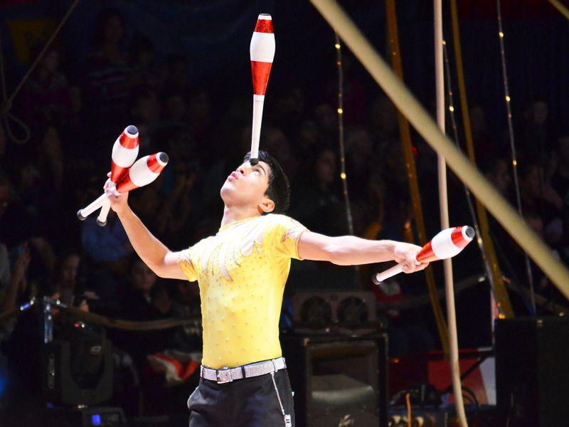 Acrobates jongleurs viendront animer vos soir es five - Image jongleur cirque ...