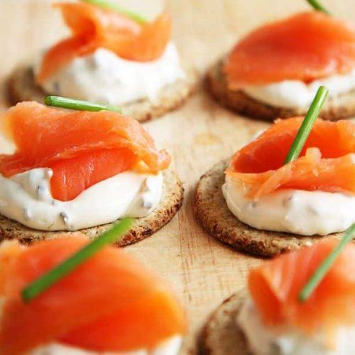 saumon fume animation traiteur culinaire pour entreprise