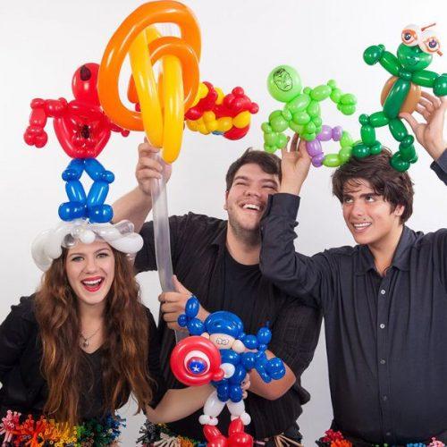 Animation sculpteur jongleur de ballon pour fete enfant