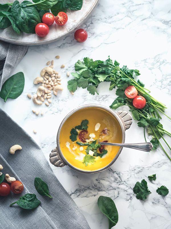 bar à soupe pour entreprise traiteur d'animation culinaire détox