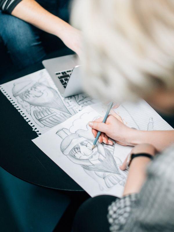 caricature animation caricaturiste pour événement, réception, fête commerciale