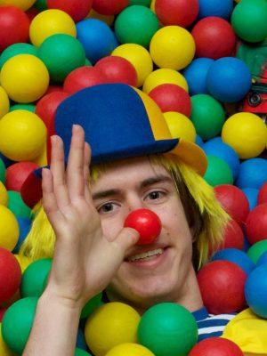 clown pour vos spectacles fête, kermesse, arbre de noël enfant