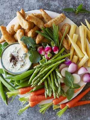 bar à légumes dips veggie végétarien buffet traiteur bio