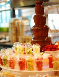 fontaine chocolat animation entreprise traiteur