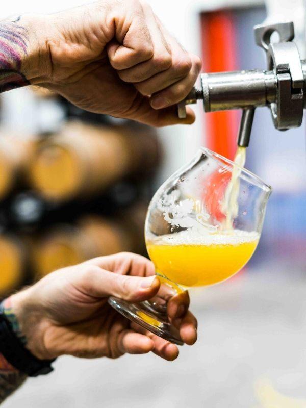 bar à bières fût de bière traiteur boisson en entreprise