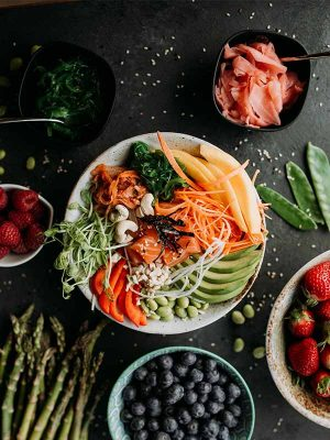 poke bowl traiteur evenement healthy reception paris