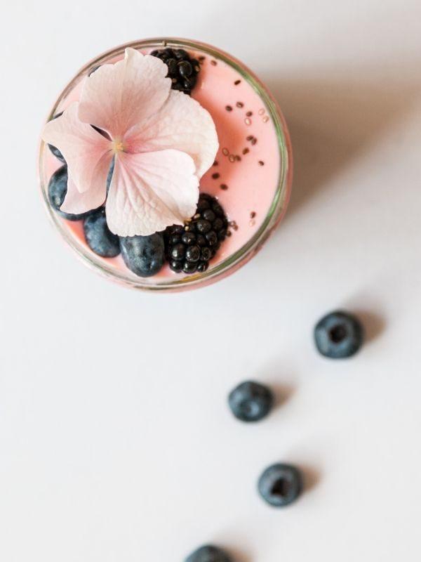 traiteur animation chia pudding sucrée tendance vegan healthy