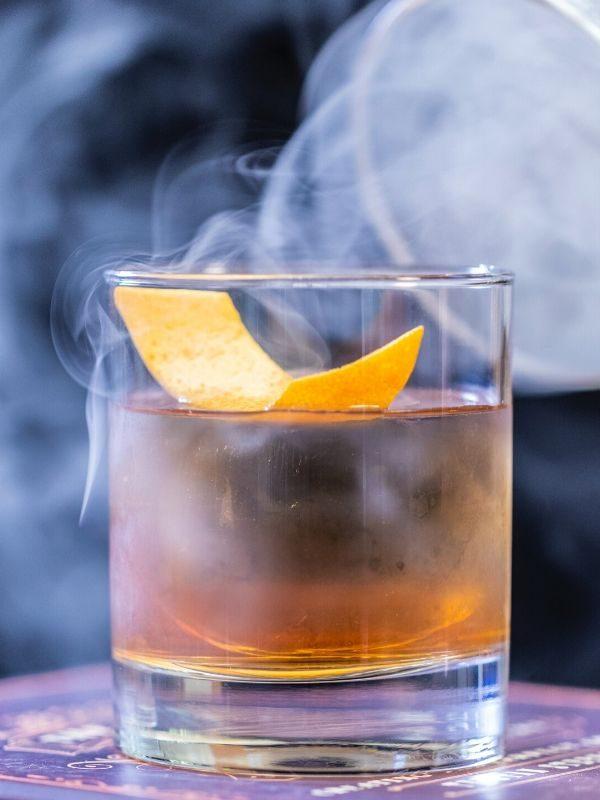 cocktail fumant animation bar traiteur