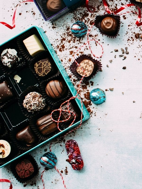 cadeau gourmand coffret panier garni chocolat boite gastronomique entreprise