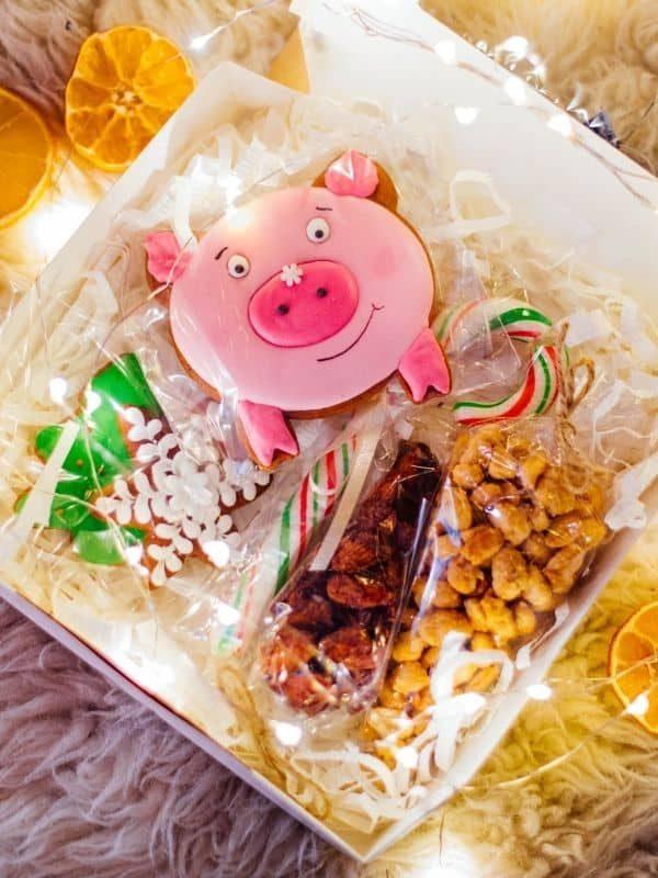 coffret Noël enfant bonbon traiteur paris livraison