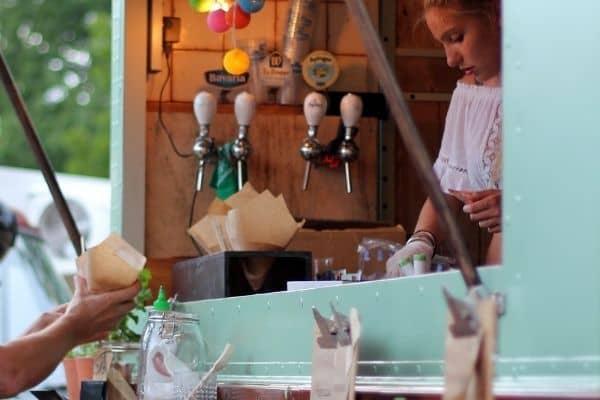 food truck original healthy Paris traiteur