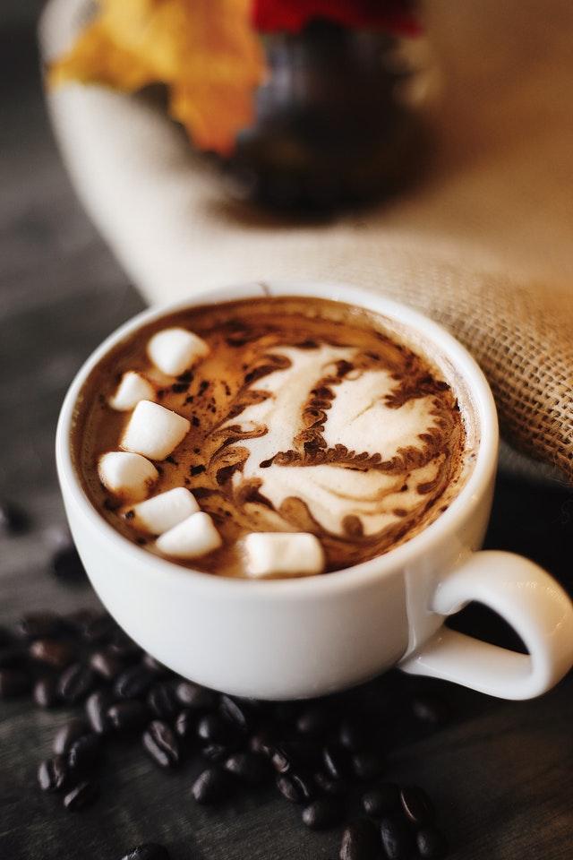 animation boisson chocolat thème chamallow
